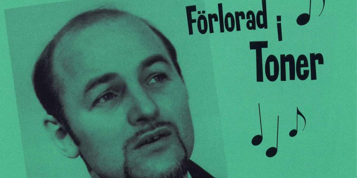 Åke Sandin, detalj av omslaget till CD:n Förlorad i toner