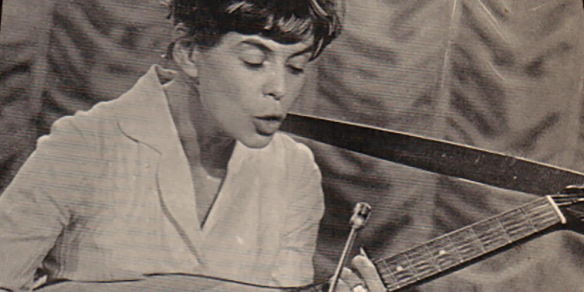 Cecilia Bruce (detalj från skivomslag)