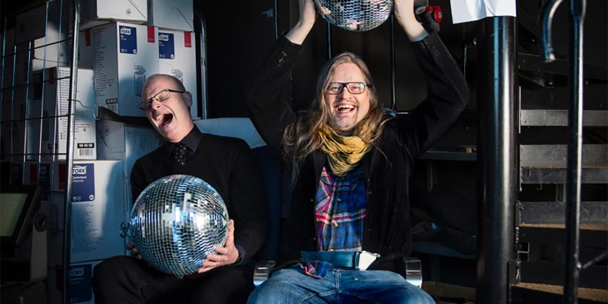 Magnus Nilsson och Burt von Bolton, Sunkit (foto: Casper Hedberg)