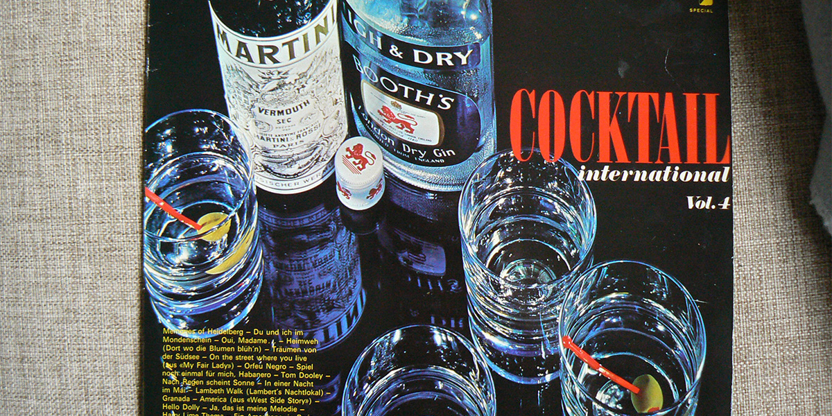 Cocktail International (detalj av skivomslag)