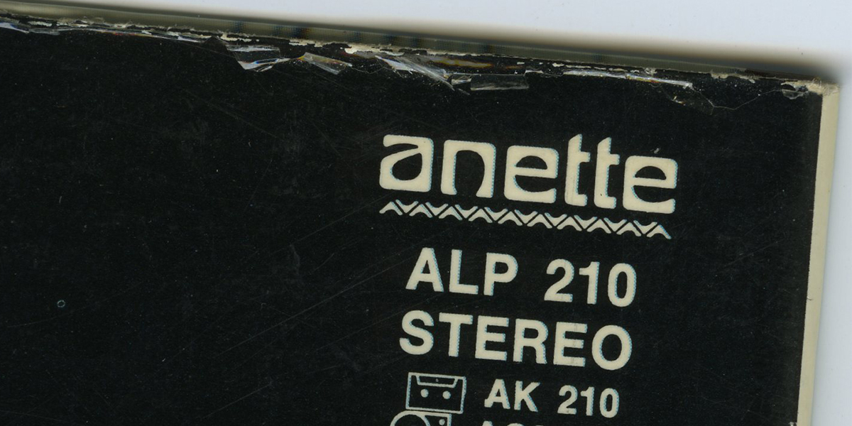 Skivbolaget Anette (och Hellrec)