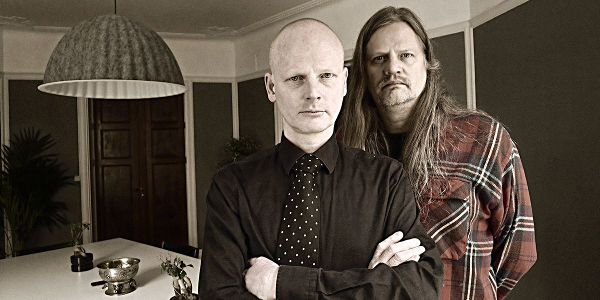 Magnus Ny-Magnum Nilsson och Burt von Bolton (foto: Sunkit)