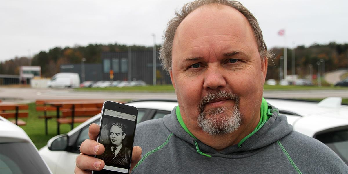 Lars-Rune Jätbrink, Johnny Bodes barnbarn (foto: Henrik Martinell)