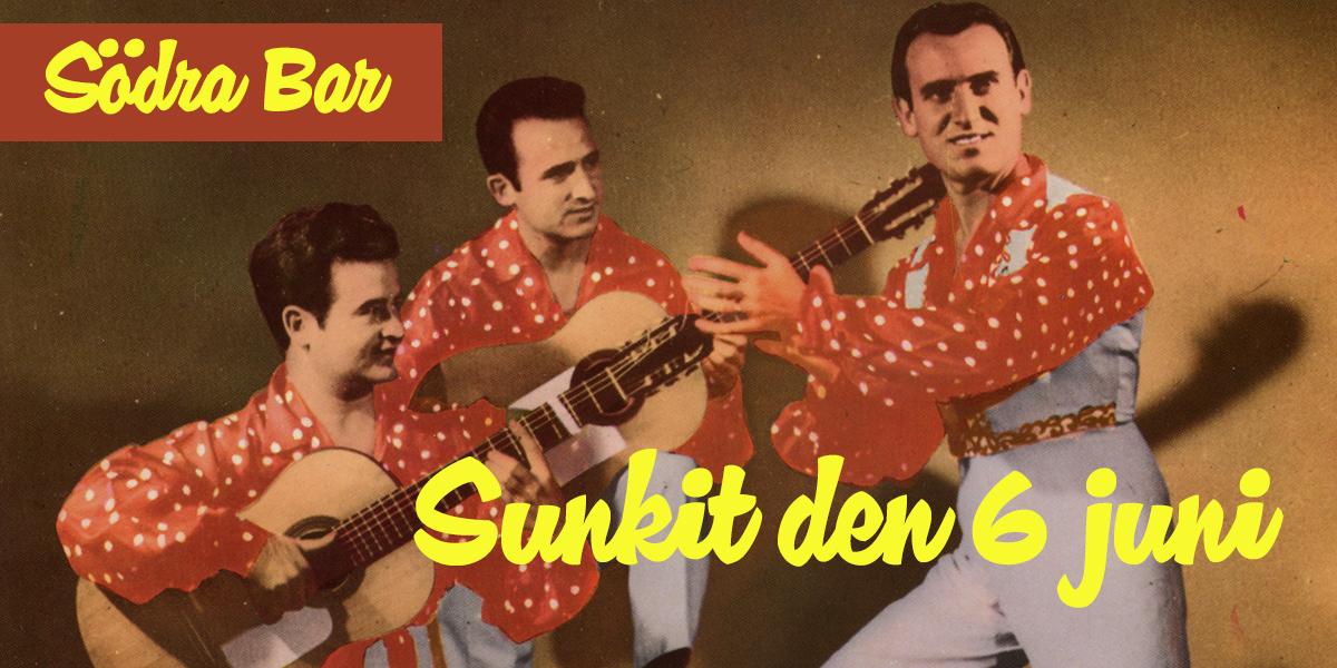 Sunkit på Södra Teatern den 6 juni 2018