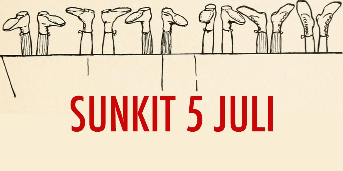 Sunkit den 5 juli 2018