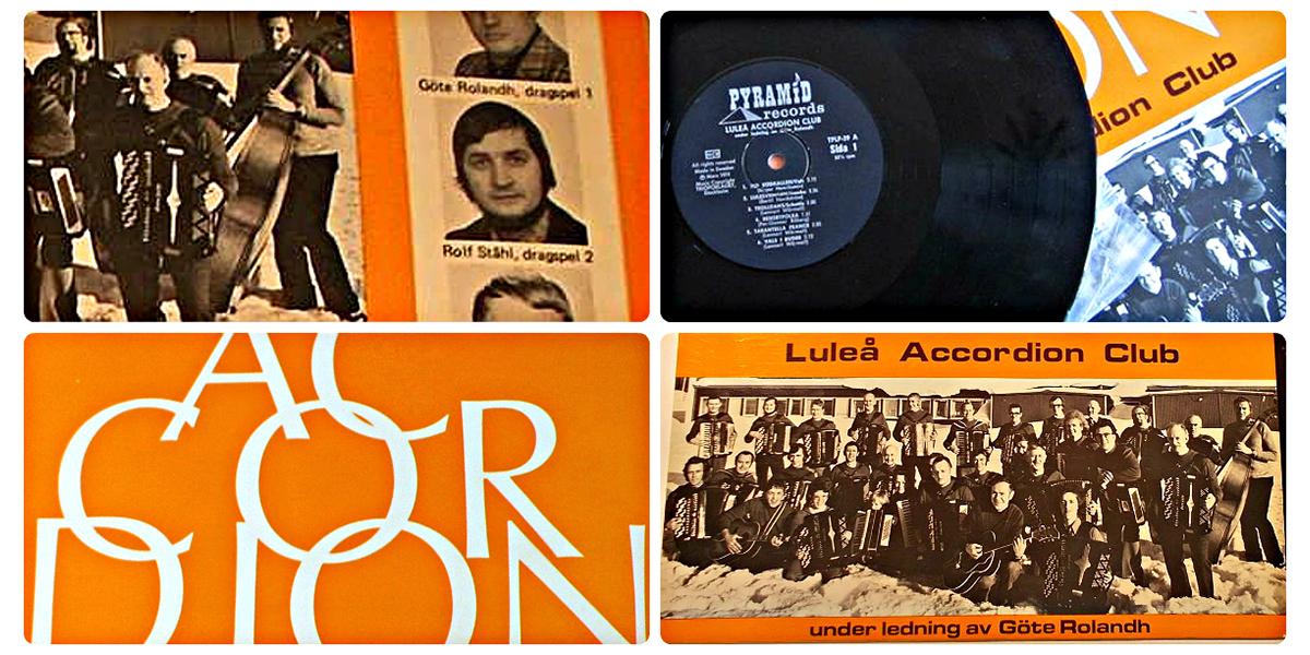 Luleå Accordion Club med Rolf Ståhl