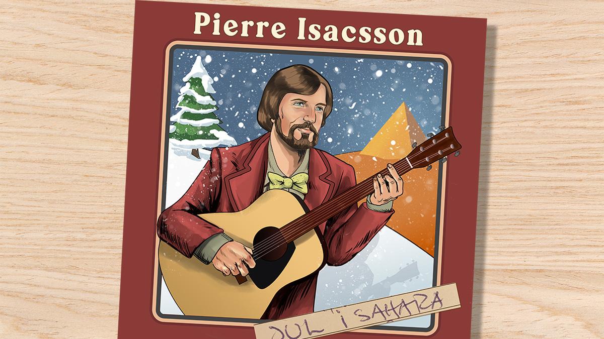 Pierre Isacsson: Jul i Sahara (omslag)
