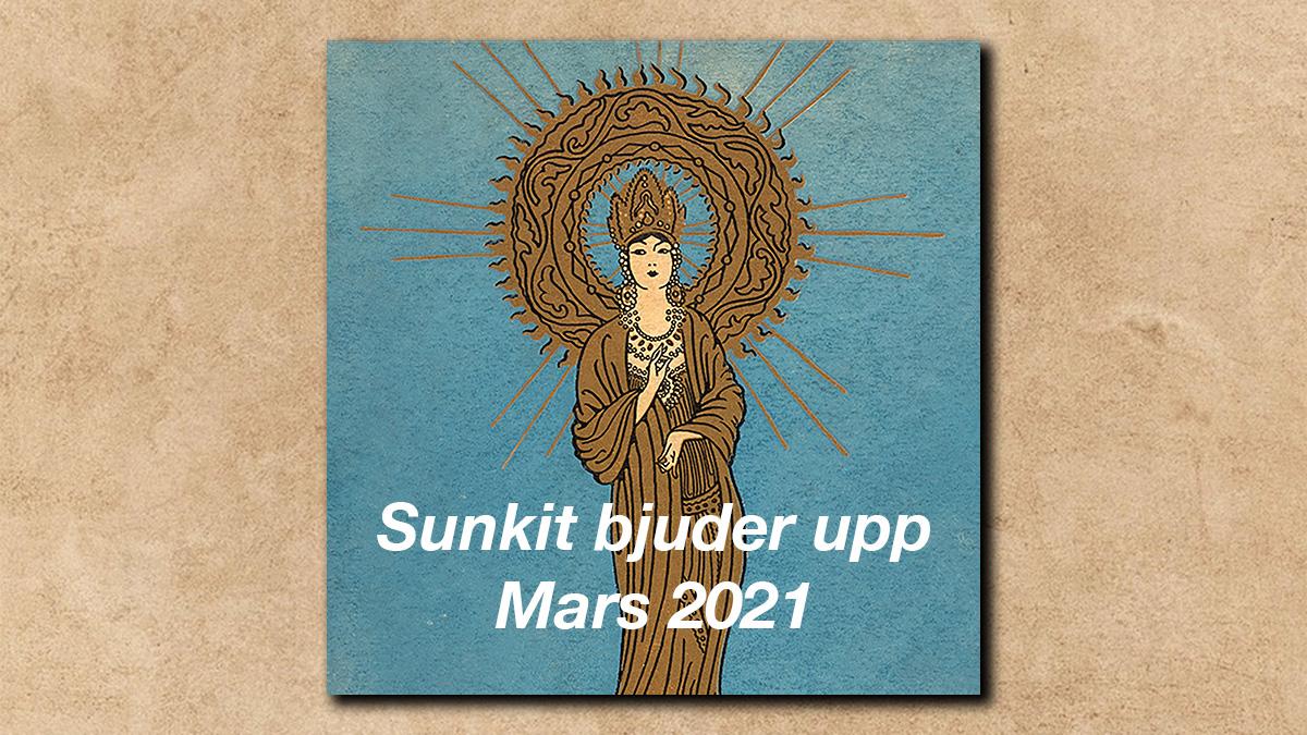 Sunkits spellista i mars 2021