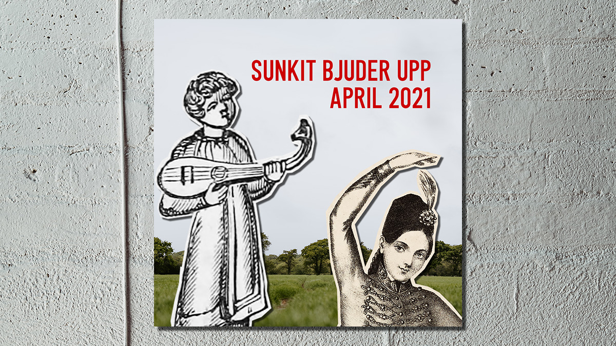 Sunkits spellista i april 2021