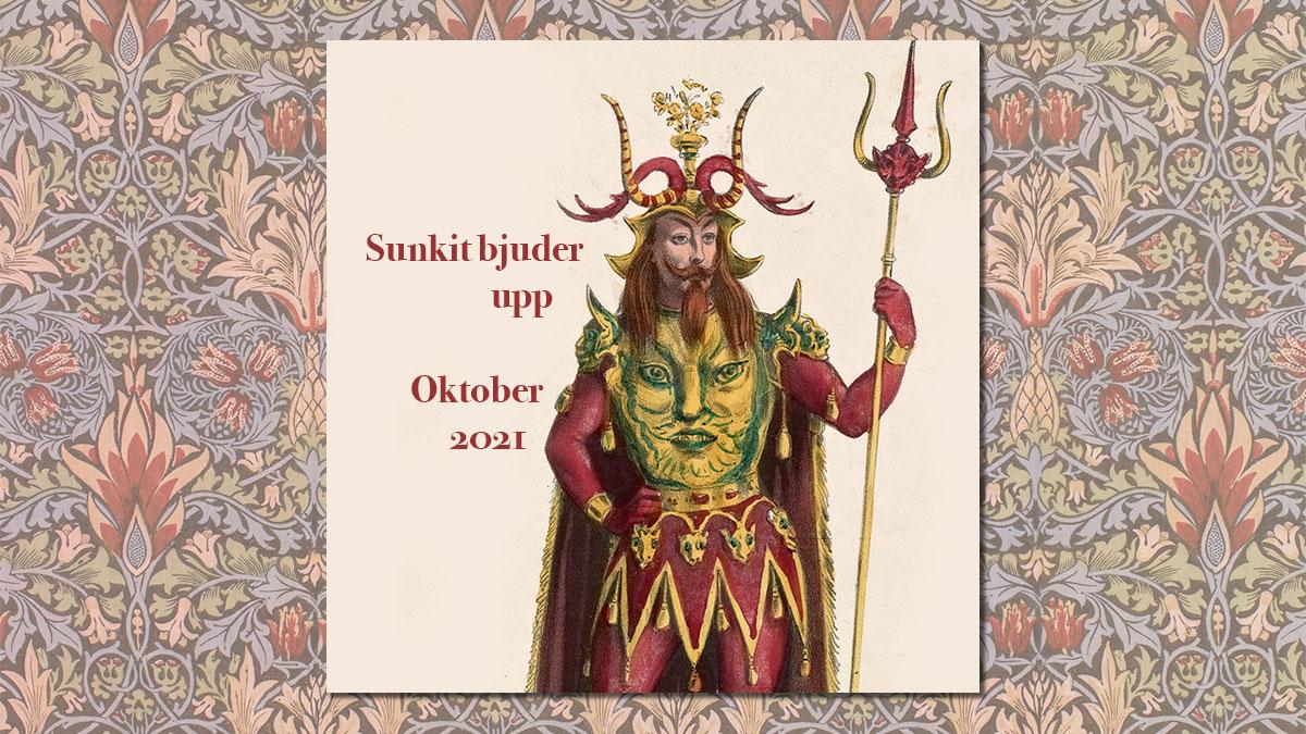 Sunkits spellista i oktober 2021